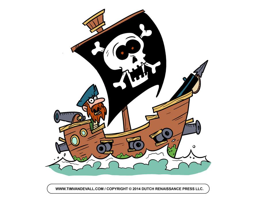 900x695 Free Clipart + Animation + Pirates