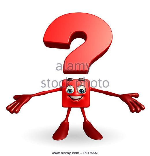 520x540 Cartoon Character Question Mark Hello Stock Photos Amp Cartoon
