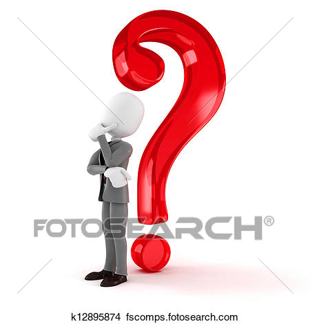 450x470 Drawing Of Big Question Mark K15101733