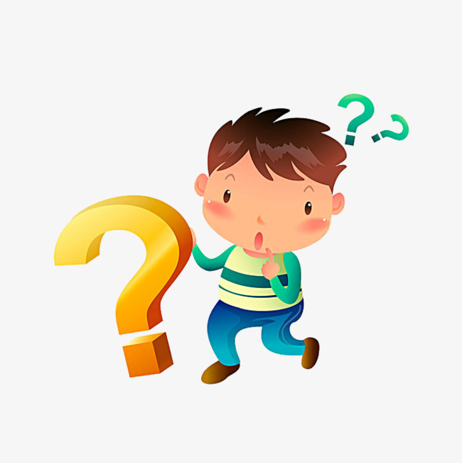 650x651 Cartoon And Question Mark, Cartoon Drawing, People, Question Mark