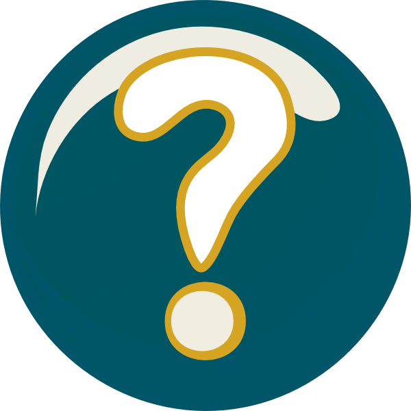 600x600 Face With Question Mark Clipart