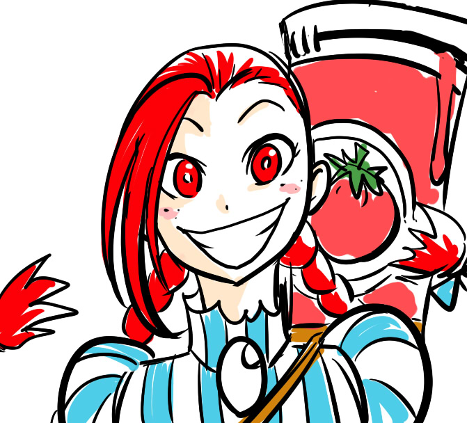 671x608 Fans Won'T Stop Drawing Wendy's Mascot As A Smug Anime Girl