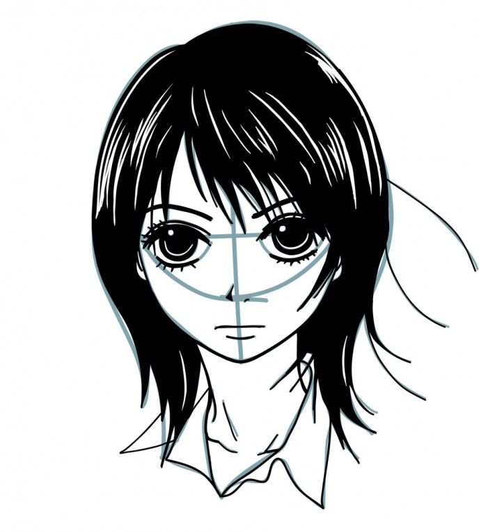688x763 How To Draw Anime The Easy Way