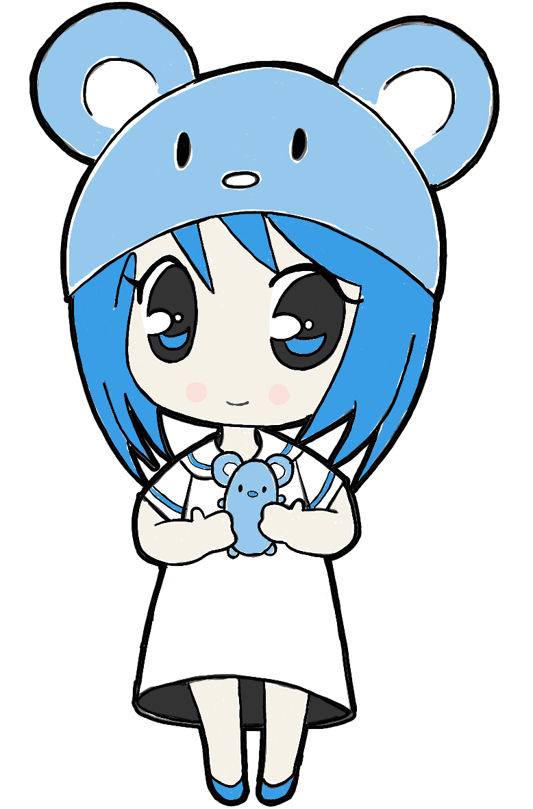 778x1182 how to draw a chibi girl with cute mouse hat easy step by step