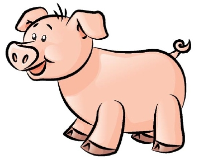 400x330 Animated Pigs Pictures