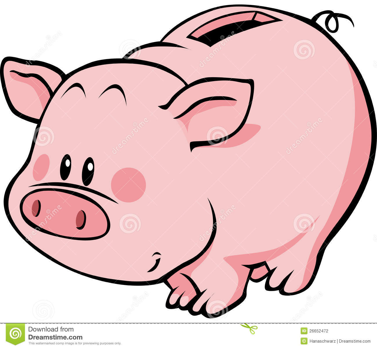 1300x1204 Animated Piggy Bank Clipart