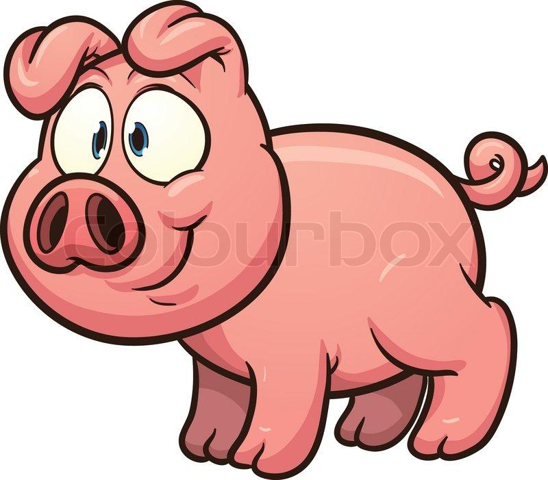 800x701 Cartoon Pigs Clipart