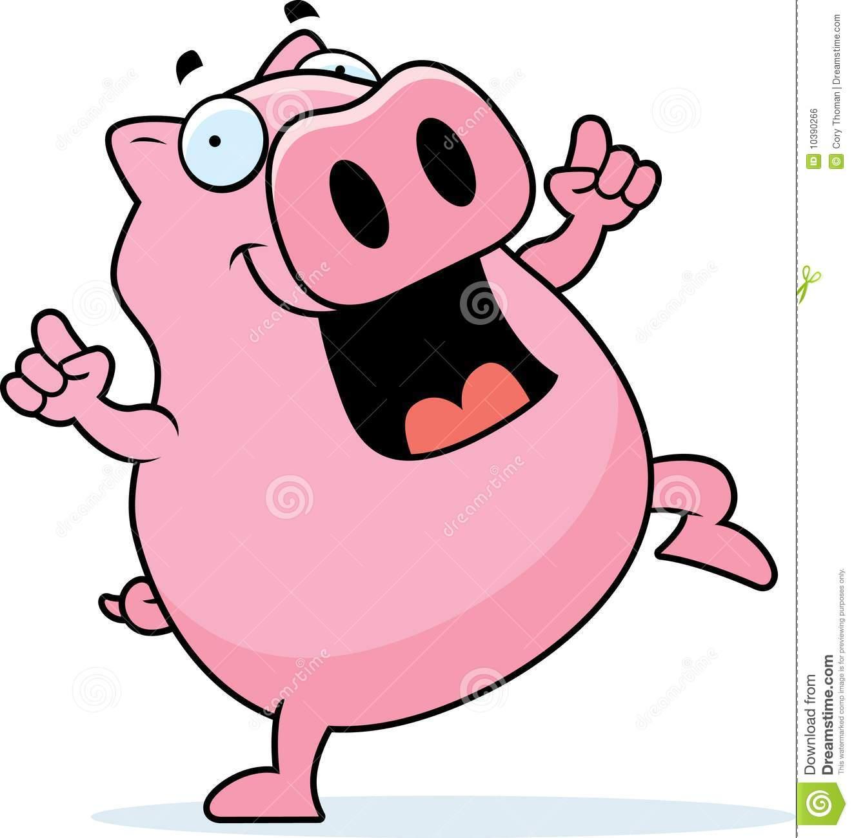 1324x1300 Clipart Dancing Pig