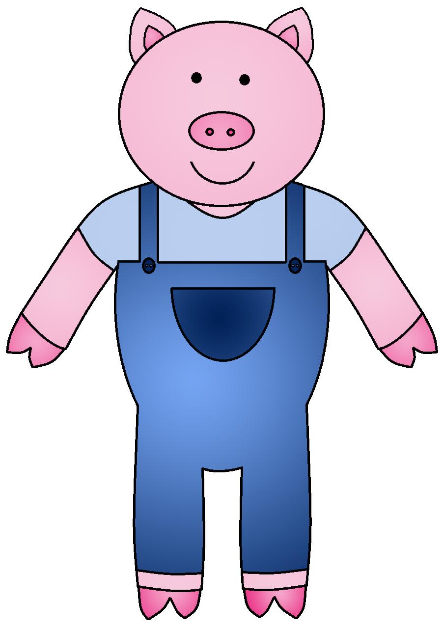 902x1279 Clipart Little Pig Three