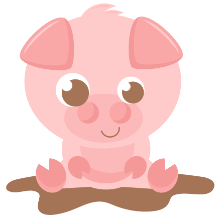 432x432 Cute Pig Clipart