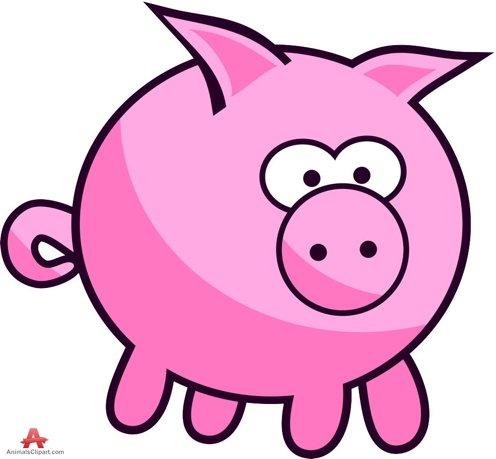 999x926 Fat Pig Clipart Design Free Download