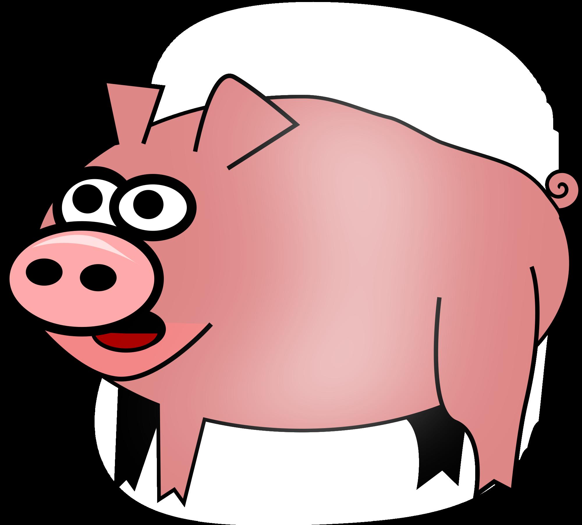 2000x1805 Ham Clipart Animated