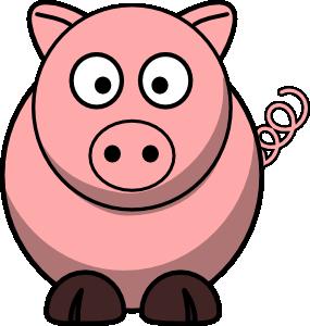 285x300 Pig 4 Clip Art