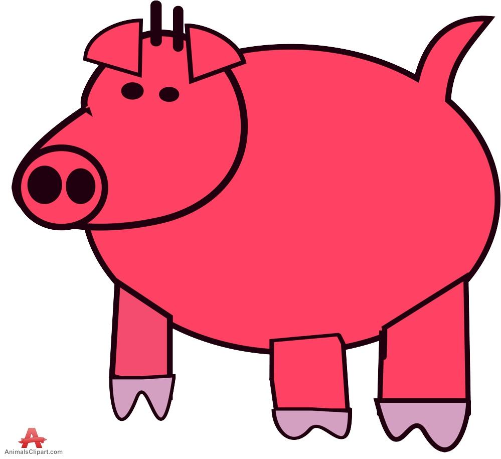 999x915 Pig Clip Art Free Vector 2 2