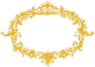 320x227 Gold Border Clipart Images