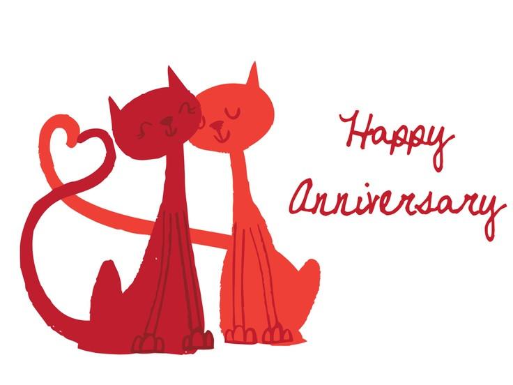 736x552 Free Animated Happy Anniversary Clip Art