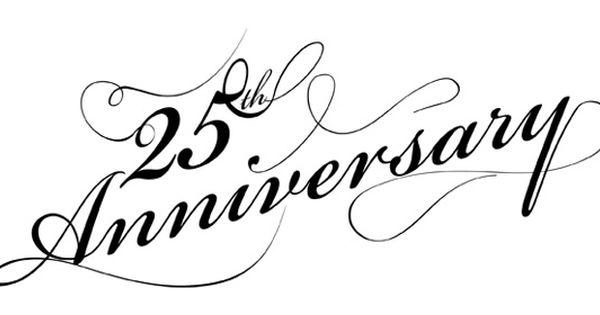 600x315 Free Silver Anniversary Clip Art