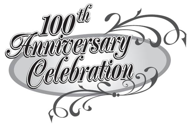 602x408 100 Year Anniversary Clip Art