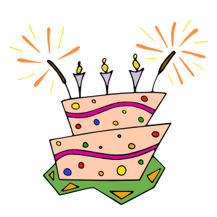 312x312 Free Birthday Cake Clip Art Clipart Panda