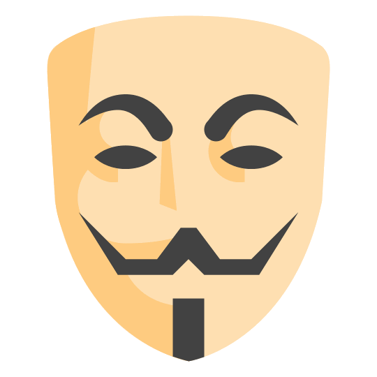 540x540 Anonymous Mask Icon