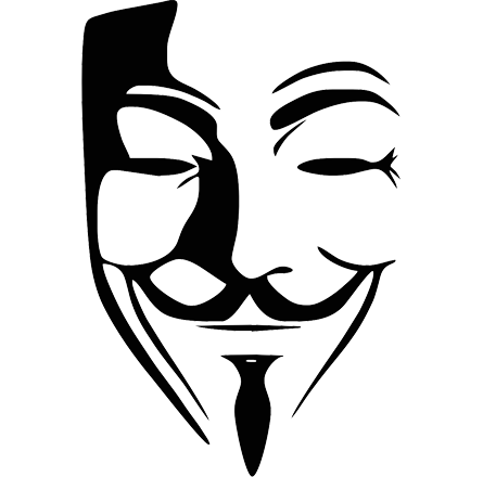 445x440 Anonymous Mask Png Clipart Web Icons Png