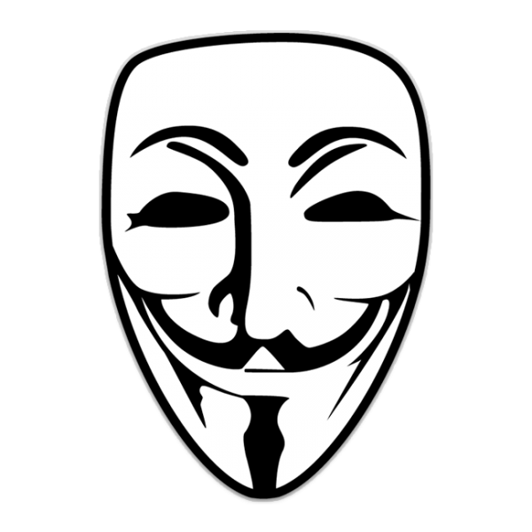 600x600 Anonymous Mask Png Transparent Free Images Png Only