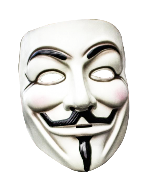500x632 Anonymous Mask Png Transparent Image