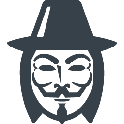 256x256 Anonymous Mask Icon 3 Free Icon Rainbow Over 4500 Royalty Free