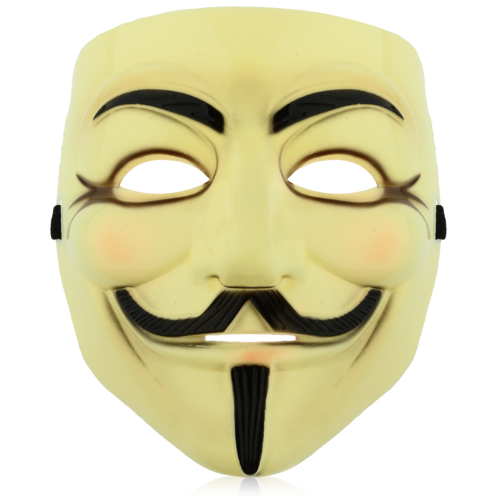 1000x1000 V For Vendetta Anonymous Mask For Adult