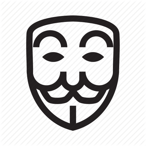 512x512 Anonymous, Emoticon, Hacker, Mask, Poker Face Icon Icon Search