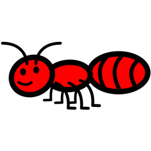 300x300 Ant Black And White Clipart For Kids Ants Collection Ant Picnic