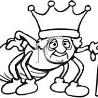200x200 Ant Clipart Black And White