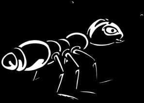 297x213 Black Shiny Ant Clip Art
