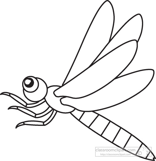 534x550 Insect Clipart Black And White