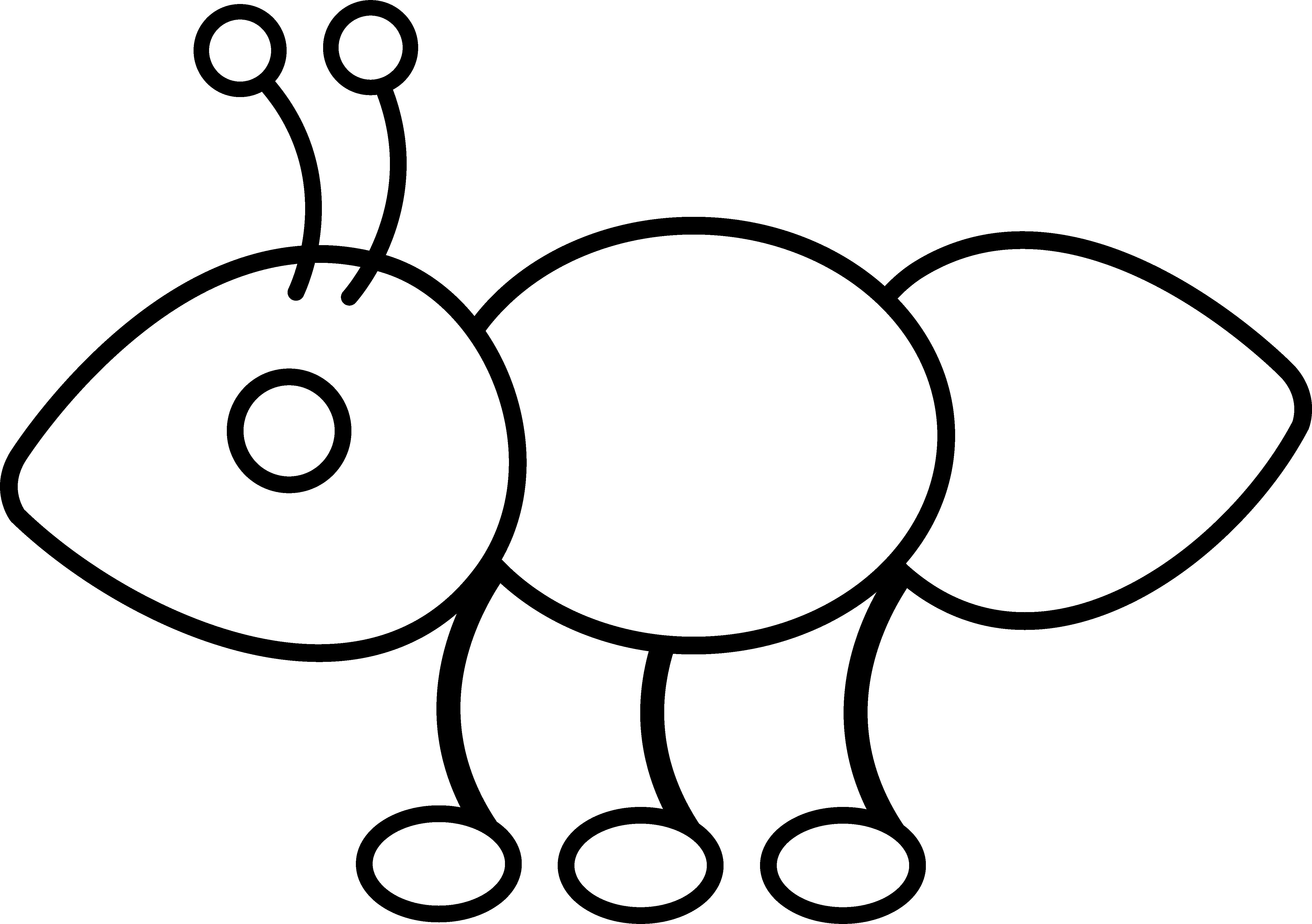 5246x3694 Ant Line Art