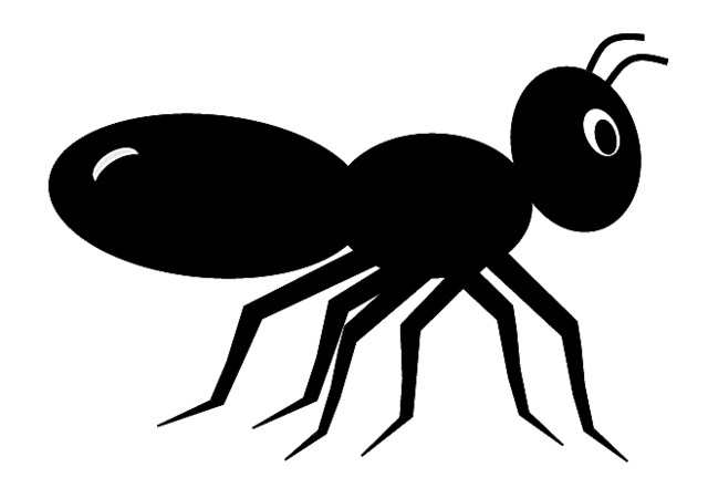 640x441 Ant Black And White Ant Clipart Black And White Free Images