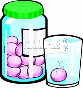 283x300 Art Image A Pill Dissolving In A Cup Of Water