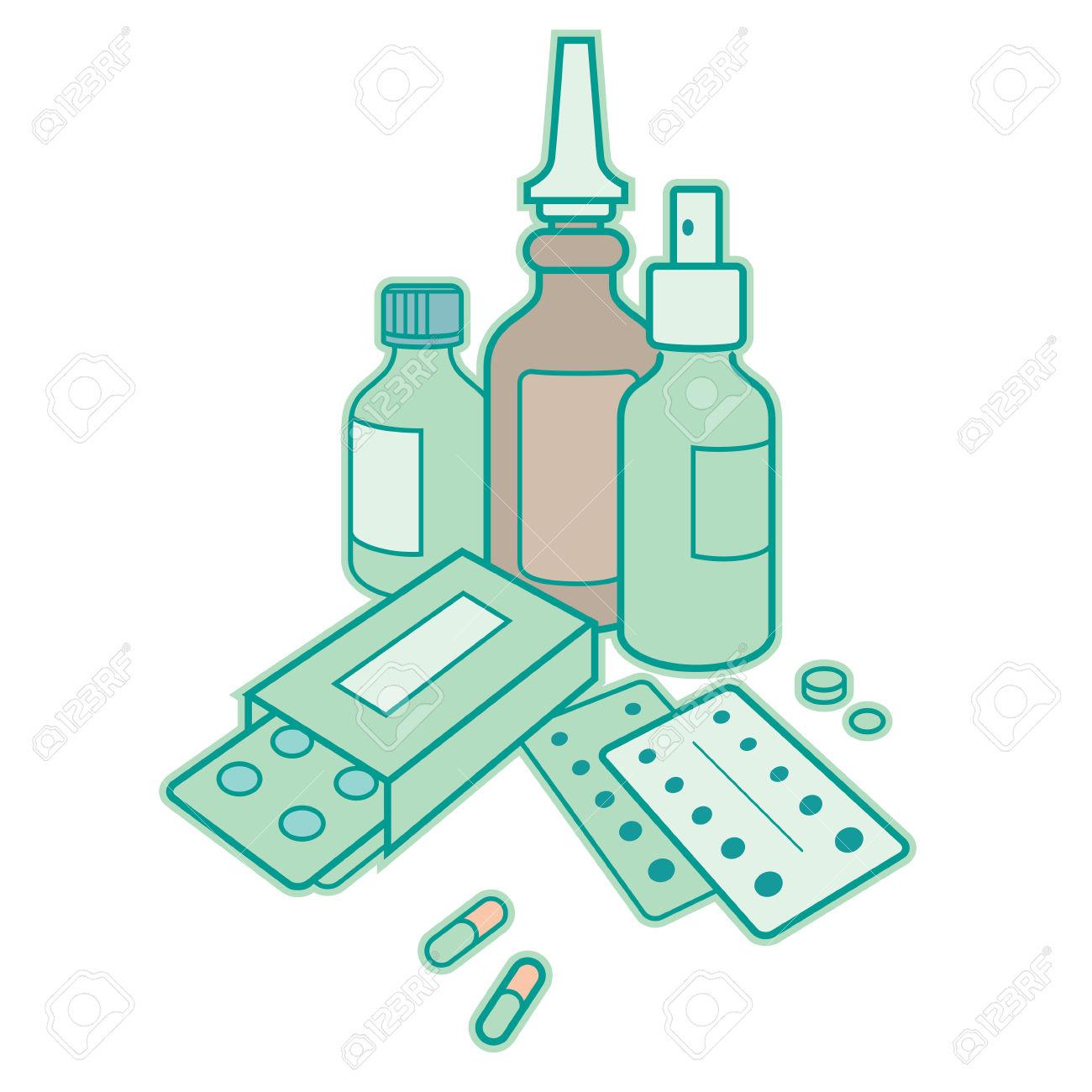 1300x1300 Medicine Clipart Antibiotic