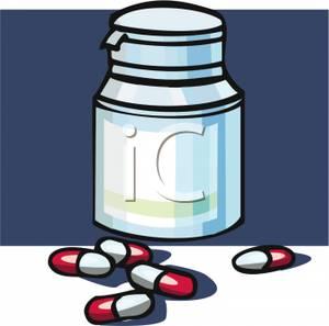 300x297 Antibiotic In Bottle Clip Art Cliparts