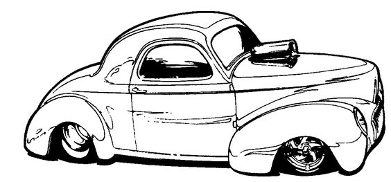 564x263 Pin By Pete Woods On Hotrod Clip Art Cars Toons And Cars