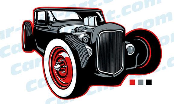 576x346 Rat Rod Clip Art Car Clip