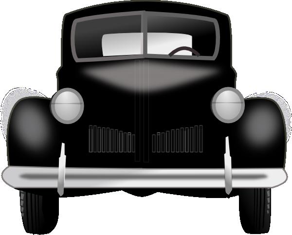 600x483 Vintage Car Clip Art