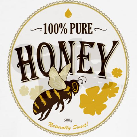 480x480 Honey Label Classic Thong Honey Label, Bees And Honey