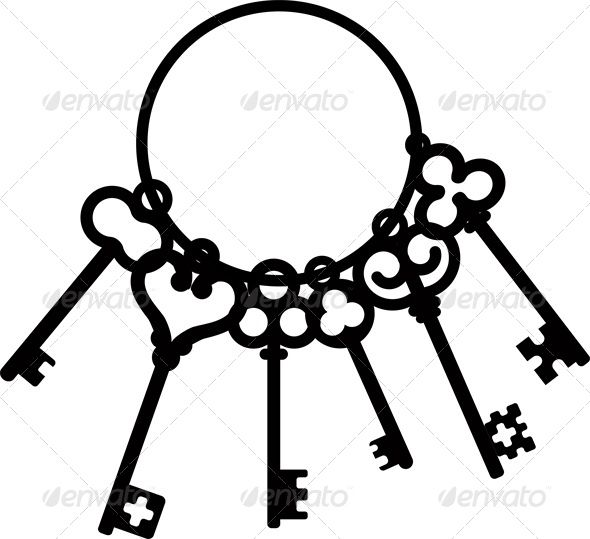 Antique Key Clipart