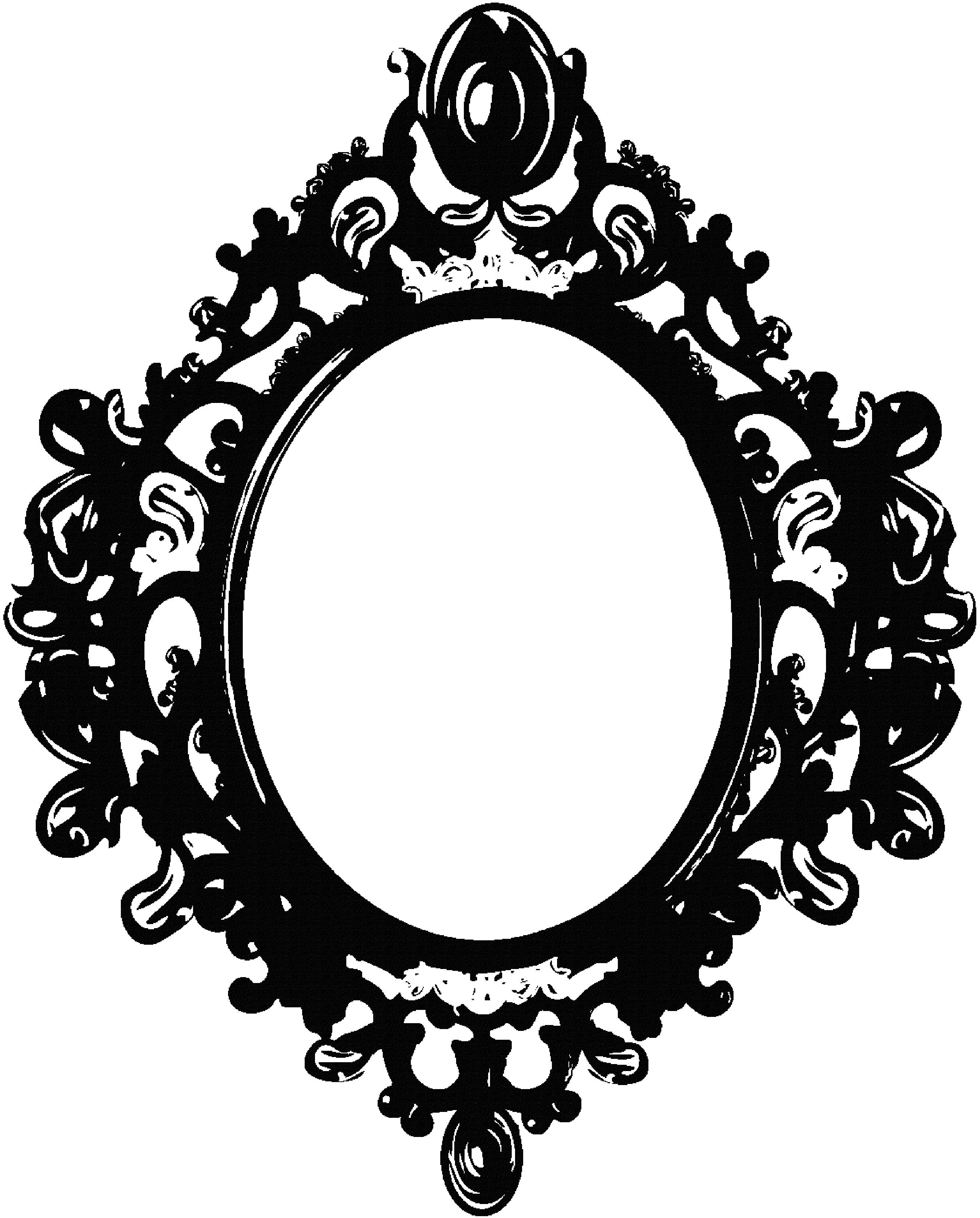 Antique Oval Frame | Free download on ClipArtMag
