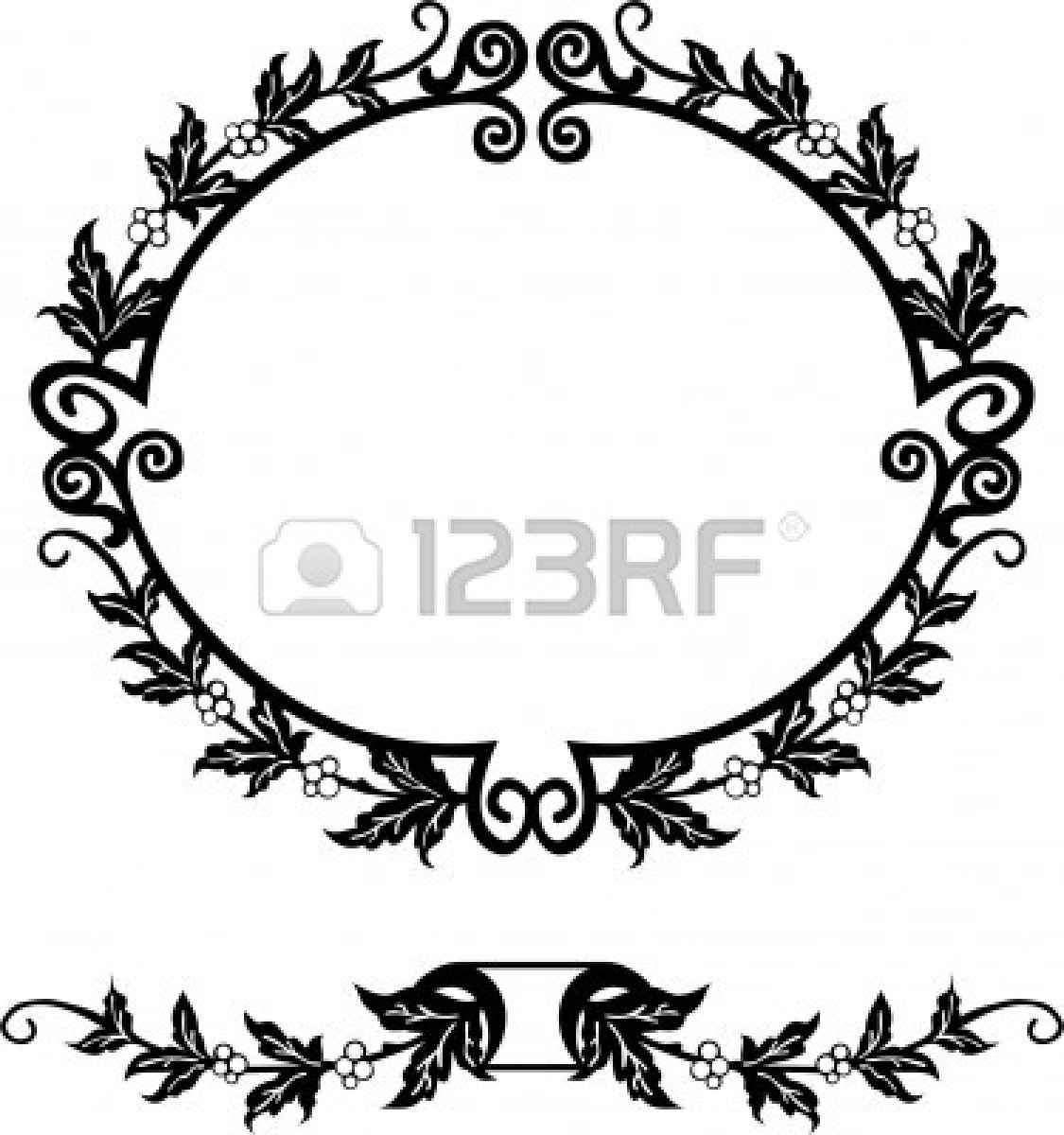 1125x1200 Oval Silhouette Picture Frames Image Collections