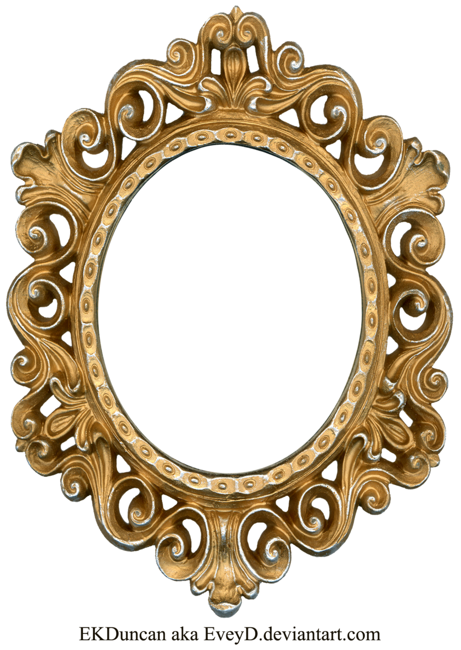 900x1268 Vintage Gold And Silver Frame
