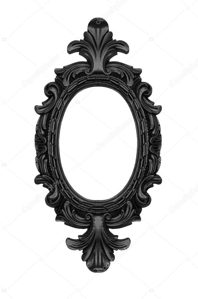 679x1024 Vintage Black Ornate Frame Stock Photo Ninamalyna