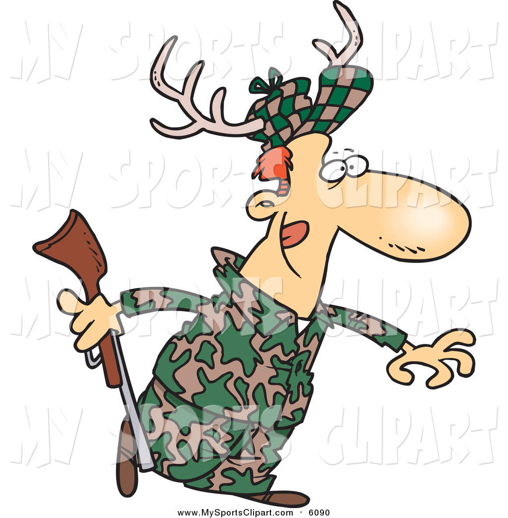 Deer Hunting Clip Art - Cliparts.co   Deer Hunting Cartoon Clipart