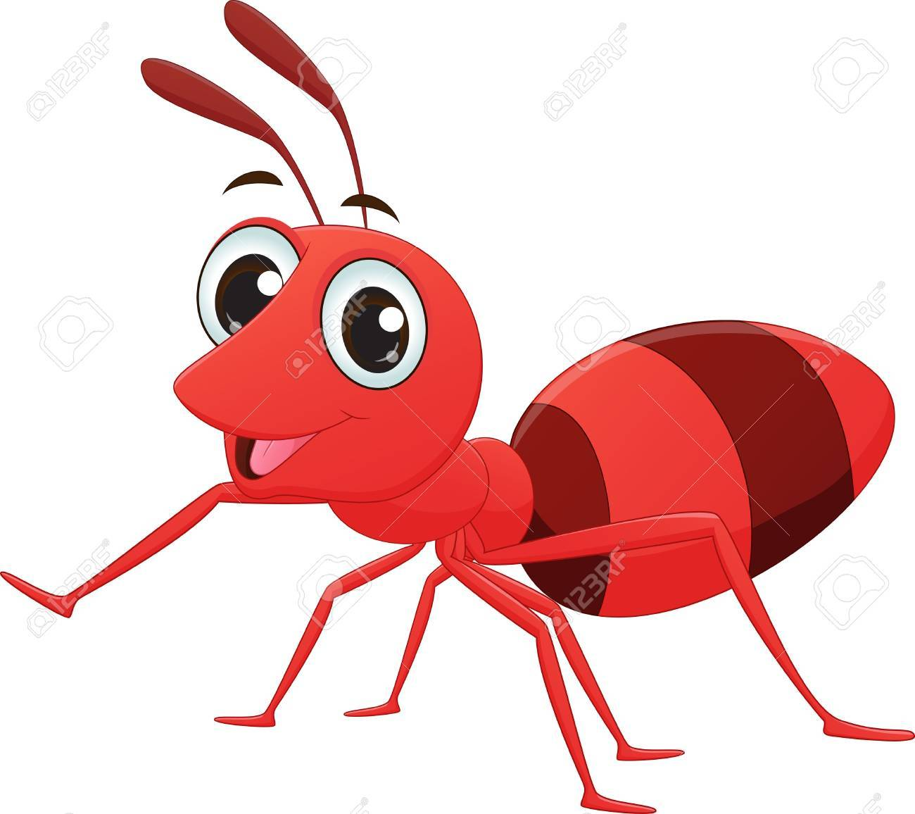 1300x1156 Red Ant Clipart Vector